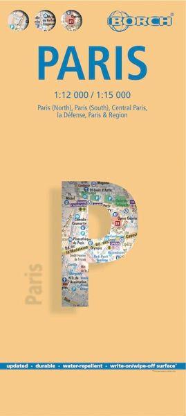 Borch Map Paris