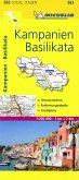 Michelin Karte Kampanien, Basilikata; Campania, Basilicata