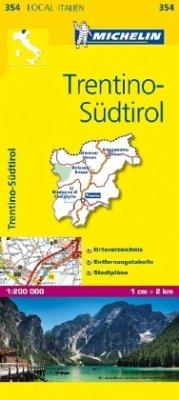 Michelin Karte Trentino-Südtirol; Trentino-Alto Adige