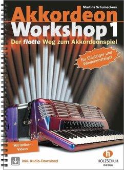 Akkordeon Workshop, m. Audio-CD u- DVD