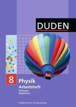 Physik 8 Arbeitsheft Regelschule Thüringen