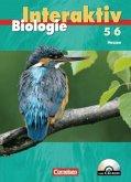 5./6. Schuljahr, Schülerbuch m. CD-ROM / Biologie interaktiv, Ausgabe Hessen