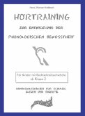 Hörtraining - Zur Entwicklung der phonologischen Bewusstheit