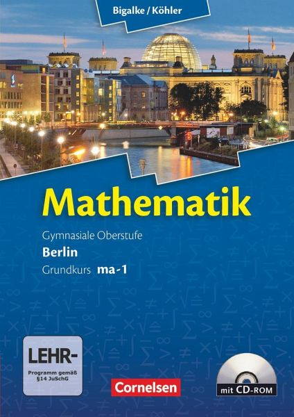 mathematik sekundarstufe ii kerncurriculum grundkurs ma 1 schulbuch. Black Bedroom Furniture Sets. Home Design Ideas