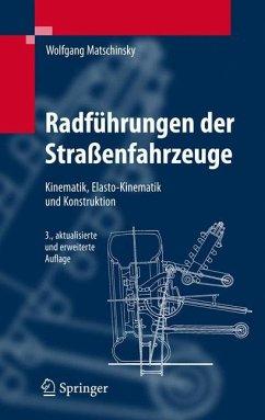 Radführungen der Straßenfahrzeuge - Matschinsky, Wolfgang