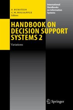 Handbook on Decision Support Systems 2 - Burstein, Frada / Holsapple, Clyde W. (eds.)