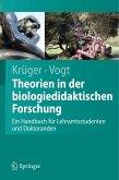 Handbuch der Theorien in der biologiedidaktischen Forschung