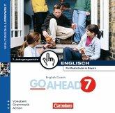 7. Jahrgangsstufe, 1 CD-ROM / English Coach Go Ahead, CD-ROMs Bd.7