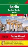 Freytag & Berndt Stadtplan Berlin; Berlino; Berlijn