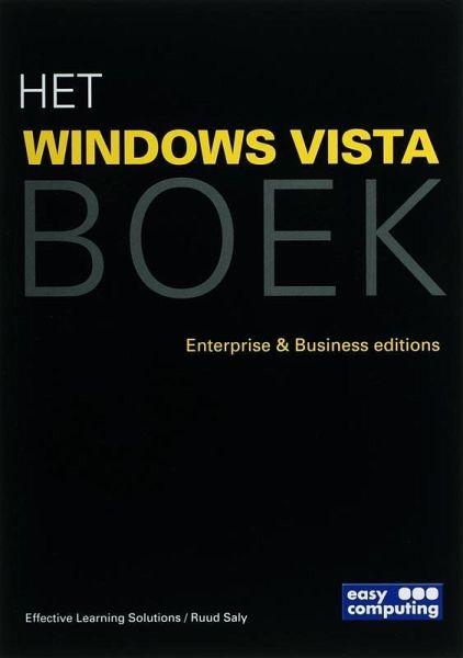 Het Windows Vista Boek Druk 1 Portofrei Bei Bücherde Bestellen