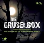 Die Gruselbox, 10 Audio-CDs