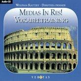 Vokabeltraining, 2 Audio-CDs / Medias in res!