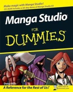 Manga Studio For Dummies - Hills, Doug