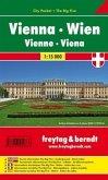 Freytag & Berndt Stadtplan Wien, City Pocket, Stadtplan 1:15.000