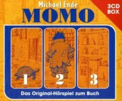 Momo - Hörspielbox, 3 Audio-CDs - Ende, Michael