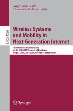 Wireless Systems and Mobility in Next Generation Internet - García-Vidal, Jorge (Volume ed.) / Cerdà-Alabern, Llorenc