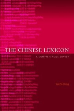 The Chinese Lexicon - Po-Ching, Yip