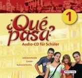 Klasse 6 und 7, 1 Audio-CD / Qué pasa? Bd.1