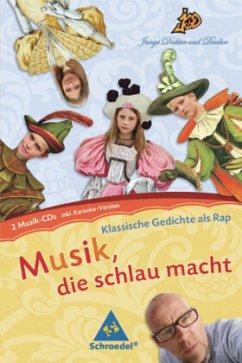 Klassische Gedichte als Rap, 2 Audio-CDs, Audio-CD / Musik, die schlau macht