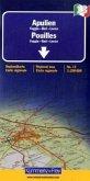 Kümmerly & Frey Karte Apulien; Pouilles; Apulia; Puglia