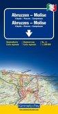 Kümmerly & Frey Karte Abruzzen, Molise; Abruzzes, Molise; Abruzzo, Molise