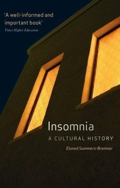 Insomnia: A Cultural History - Summers-Bremner, Eluned