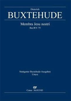 Membra Jesu nostri BuxWV 75 (L), Klavierauszug - Buxtehude, Dietrich