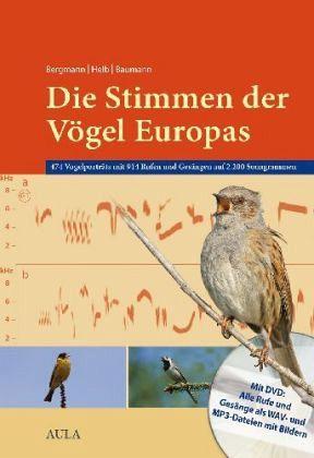 Die Stimmen der Vögel Europas, m. mp3-DVD - Bergmann, Hans-Heiner; Helb, Hans-Wolfgang; Baumann, Sabine