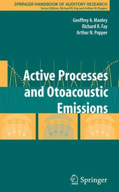 Active Processes and Otoacoustic Emissions - Manley, Geoffrey Allen / Fay, Richard R. / Popper, Arthur N. (eds.)