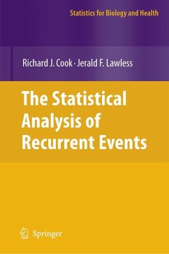 The Statistical Analysis of Recurrent Events - Cook, Richard J.; Lawless, Jerald F.