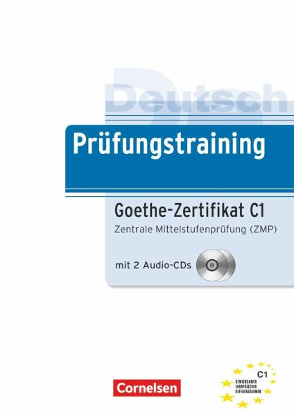 Deutsch Prüfungstraining Goethe Zertifikat C1 Lernerhandbuch Von