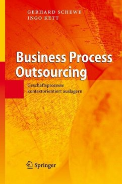 Business Process Outsourcing - Schewe, Gerhard; Kett, Ingo