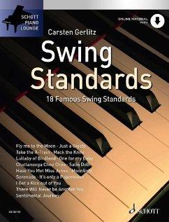 Swing Standards, für Klavier, m. Audio-CD