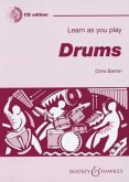 Learn as you play Drums, w. Audio-CD