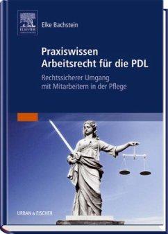 Praxiswissen Arbeitsrecht für die PDL - Bachstein, Elke