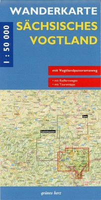 Wanderkarte Sächsisches Vogtland