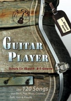 Guitar Player, m. 2 Audio-CDs - Harms, Wieland