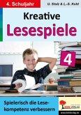 Spielerisch lesen lernen im 4. Schuljahr / Kreative Lesespiele zur Verbesserung der Lesekompetenz