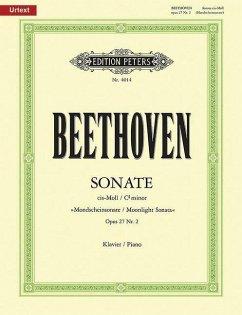 Klaviersonate cis-Moll op.27/2 (Mondschein-Sonate) - Beethoven, Ludwig van