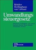 Umwandlungssteuergesetz - Herlinghaus, Andreas / Lishaut, Ingo van / Rödder, Thomas