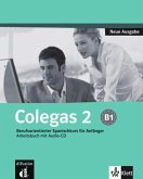 Colegas 2. Neubearbeitung. Arbeitsbuch inkl. Audio-CD