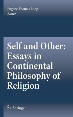 Self and Other: Essays in Continental Philosophy of Religion - Long, Eugene Thomas (ed.)