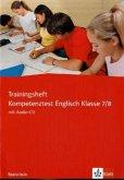 Trainingsheft Kompetenztest Englisch. 7./8. Klasse. Realschule
