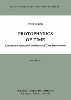 Protophysics of Time - Janich, P.