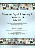 Elementary Organic Laboratory II; Chem 21224: The Organic Chem Lab Survival Manual