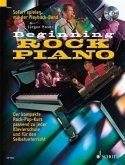 Beginning Rock Piano, m. Audio-CD