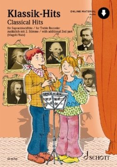 Klassik-Hits für Altblockflöte, für 1-2 Altblockflöten, m. Audio-CD