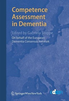 Competence Assessment in Dementia - European Dementia Consensus Network (ed.)