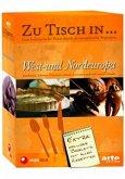 Zu Tisch in... West- und Nordeuropa (Vol. 02, 5 DVDs)