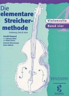 Die elementare Streichermethode, für Violoncello